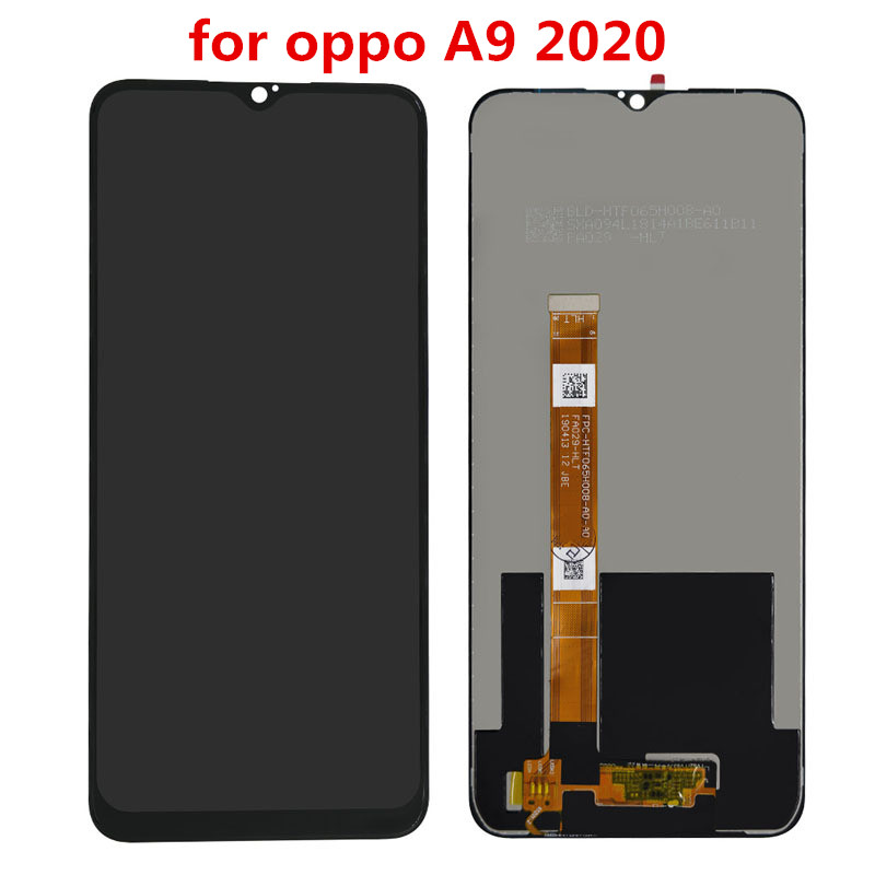 For oppo a9 f11 lcd display + touch screen digitizer full assembly replacement for oppo a9 cph1913 cph1911 / f11