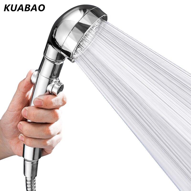 Высококачественная Вращающаяся насадка для душа под давлением, водосберегающая насадка для душа, насадка для ванны, душа с одним ключом и в...