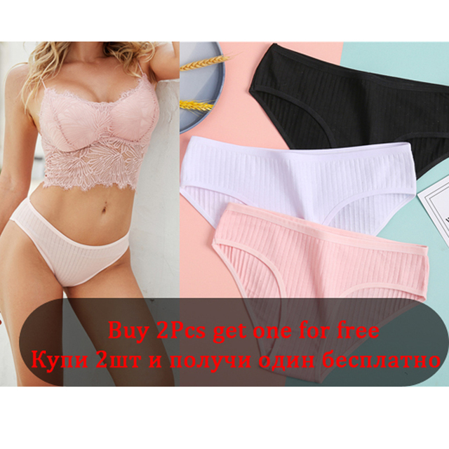 Fashion Summer Women Sexy Briefs Underwear Hollow Breathable Female Underpants Solid Color Intimate Lingerie Woman Panties M-XL
