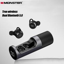 מפלצת Clarity101 Bluetooth אוזניות אלחוטי אמיתי ב אוזן TWS ספורט ריצה ארוך חיי סוללה הפחתת רעש אוזניות
