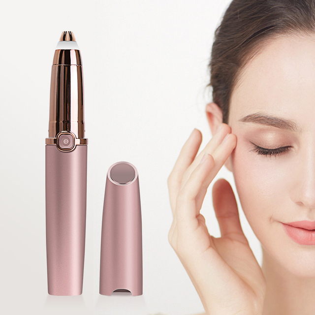 Electric Eyebrow Trimmer Mini Shaver Razors Portable Epilator Pen Epil Hair Remover Painless Razor Facial Depilador Epilator 2