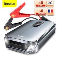 Baseus 12000mAh Car Jump Starter Power Bank 12V dispositivo di avviamento automatico 1000A Car Booster batteria batteria di avviamento di emergenza per Auto
