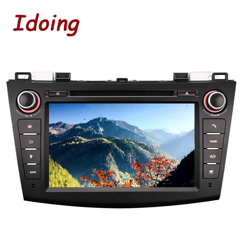 Idoing2Din Volante Android 7.1 per Mazda3 Car Dvd Multimedia Video Player di Navigazione Gps Quad Core Schermo di Tocco di Bluetooth