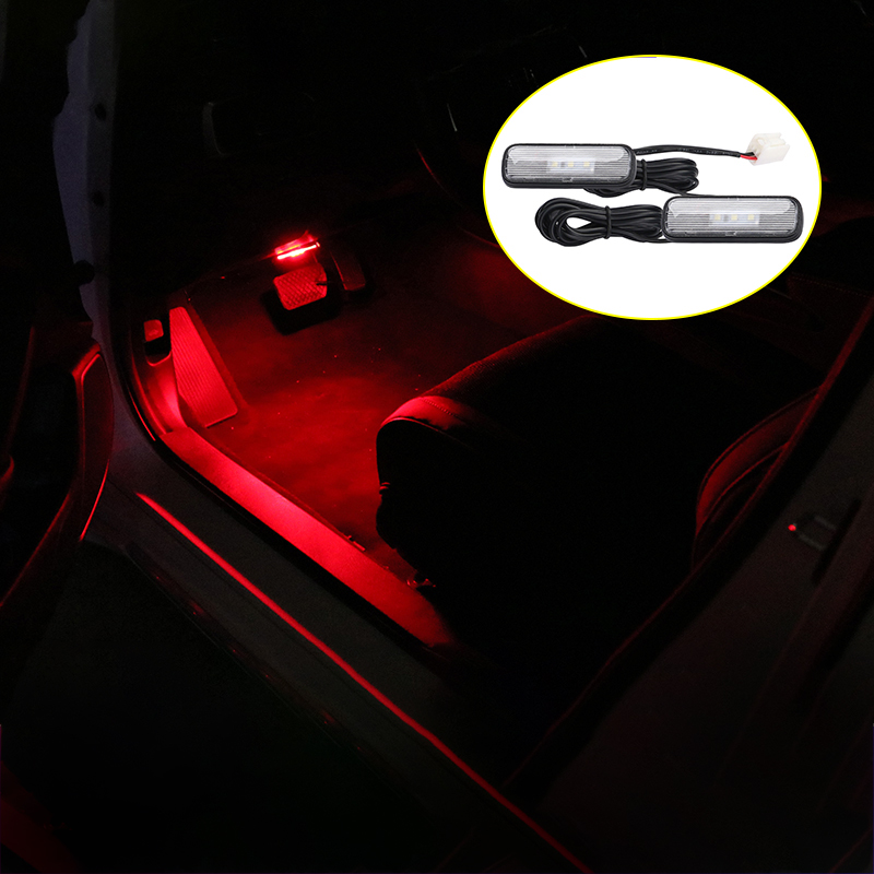 12V LED Car Interior Atmosphere Light Decoration Lamp Soles Ambient Foot Lights For Honda Civic Accord CRV 2018 2019 Accessories