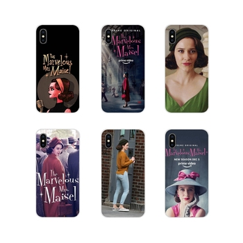 Accessories Phone Shell Covers The Marvelous Mrs. Maisel For Xiaomi Mi4 Mi5 Mi5S Mi6 Mi A1 A2 A3 5X 6X 8 CC 9 T Lite SE Pro image