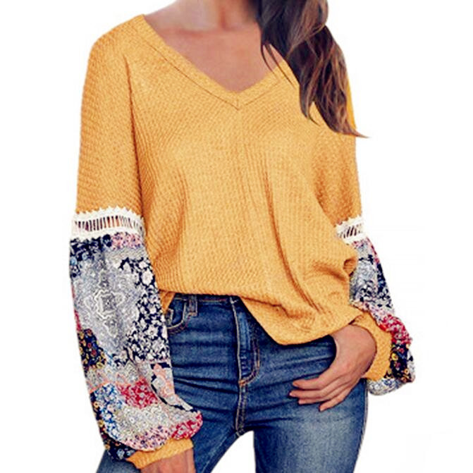 2020 Winter Women Tops Blouse Sexy Befress Plus Sizes Casual Long Sleeve Pull Shirts Female Vintage Elegant Sweaters Pullovers
