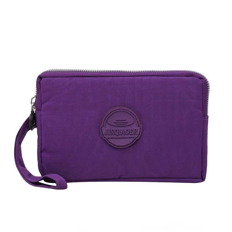Bolso Kiple New 2019 Brand Nylon Wallet Double Layer Zipper Coin Pocket Organizer Purse Wristlet Clutch Slim Wallet For Girl