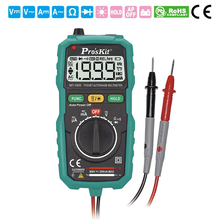 Proskit multimeter Mini multimeter Auto Range Backlight LCD display tester meter High precision high-quality digital multimeter цена в Москве и Питере
