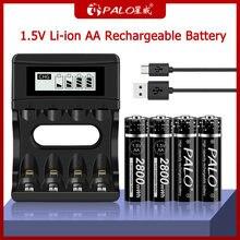 Литиевые аккумуляторные батареи palo 15 МВт/ч в aa для игрушечного