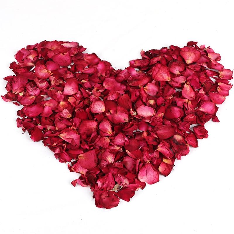 25 г/50 г/100 г/500 г, DIY сушеные розы, лепестки для свадебной вечеринки, чистое натуральное растение для украшения дома, красота, Замачивание