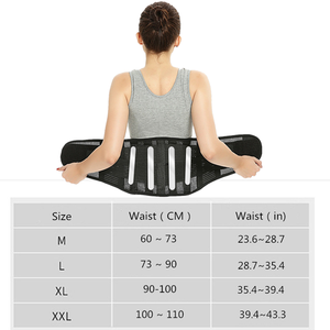 Image 5 - מתכוונן בטן מותניים מאמן מגנטי תרפים חזור תמיכת חגורת לגברים נשים רפואי אורתופדי מחוך עמוד השדרה