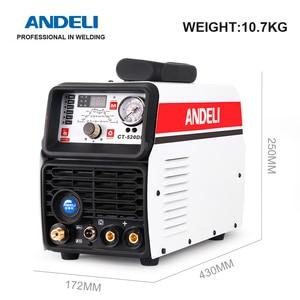 Image 4 - ANDELI الذكية المحمولة مرحلة واحدة آلة لحام CT 520DP 3 في 1 متعددة الوظائف لحام مع قطع/MMA/نبض/ماكينة لحام بغاز التنجستين الخامل آلة لحام