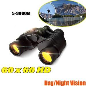 Телескоп 60X60 HD бинокль высокой четкости 3000 м высокой мощности для охоты на открытом воздухе оптический бинокль ночного видения с фиксирован...
