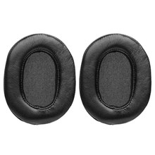 Earphone Ear Pads Sleeve Sponge Headset Cover Accessories Leather Case for Ath-Msr7 Earmuffs M50X M40X(China)