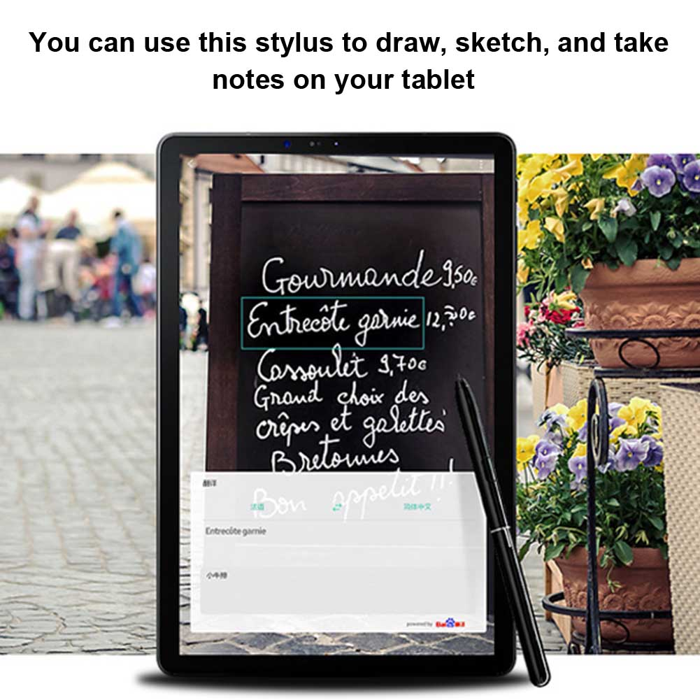 Writing Capacitive Stylus Pen Mini Fine Tip Replacement Tablet Office Touch Screen Drawing Pencil Sketching For Galaxy Tab S4