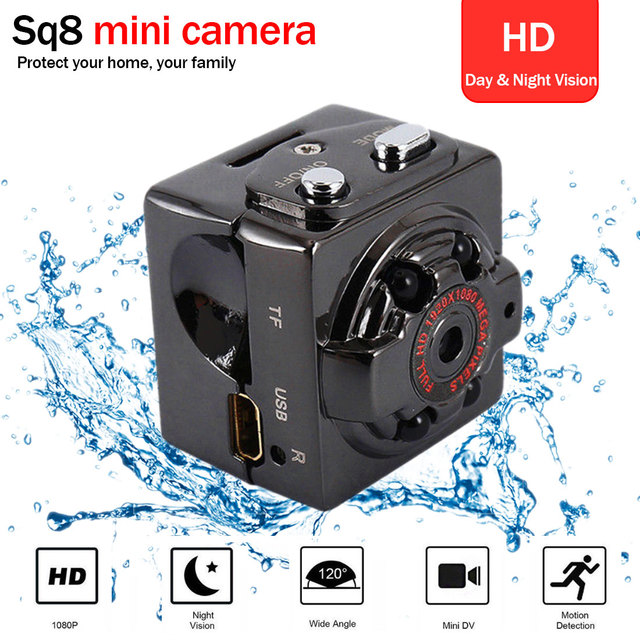 SQ8 Mini HD akıllı kamera 1080p 720P çift kayıt modu mikro kablosuz kamera gece görüş kamera küçük Minicamera Microchamber DVR