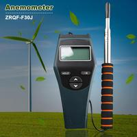 ZRQF F30J Hot Ball Anemometer Handheld Anemometer Thermal Anemometer Wind Temperature Wind Speed Measuring Tools