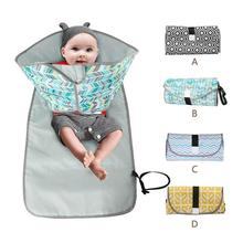 Portable Foldable Waterproof Baby Diaper Nappy Changing Mat