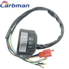 Carbman yeni Blaster öldür anahtarı Yamaha kafa işık anahtarı kapalı kapama YFS 200 1988-2002