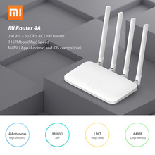 Wifi Repeater Xiaomi Dual-Band 1167mbps APP Control 4A Wireless 2 4-Antennas