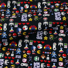 Cartoon Popular Online Game Design Cotton Fabric for Kids Clothes Home Textile Slipcover Sewing Quilting DIY Needlework Material