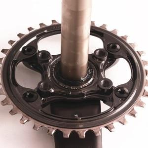 Image 2 - シマノ XT M8000 HOLLOWTECH II マウンテン Mtb 自転車クランクセット 170 ミリメートル 175 ミリメートル 30T 32T 34T 11S 1 × 11 スピードクランクセット