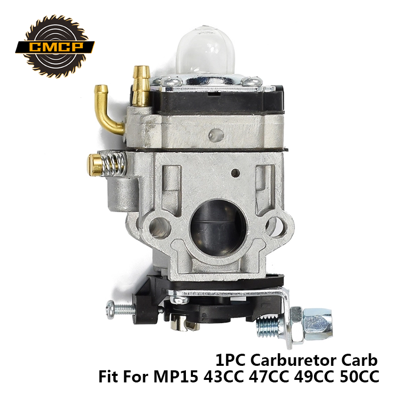 1pc Carburetor Chainsaw Fit For 1E40-5 MP15 43CC 47CC 49CC 50CC Carburetor Carb Gasoline Chainsaw Spare Parts