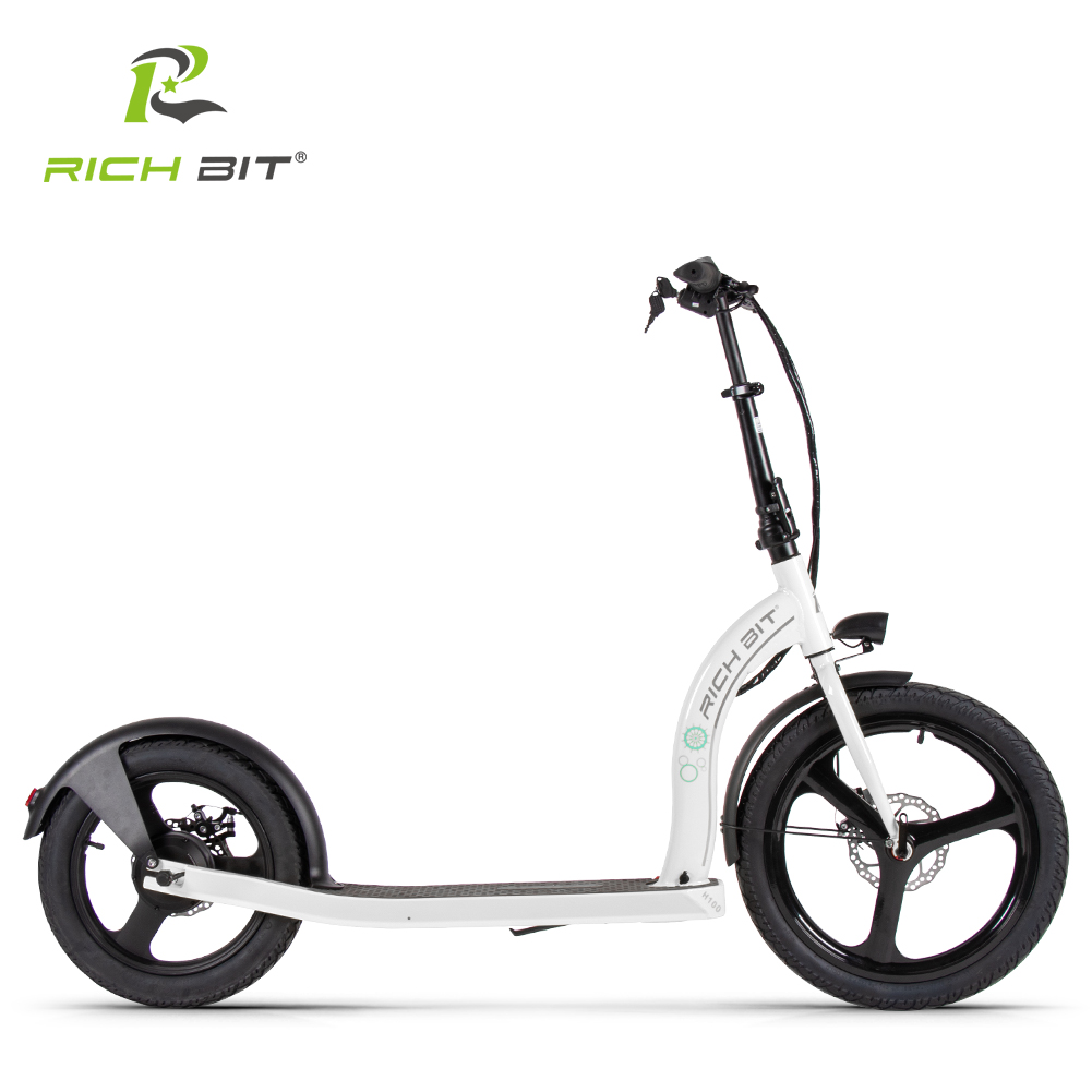 RICH BIT H100 Folding Electric Scooter 36V 6AH 250W Dedicated Lithium Electricity Speed Control Turn