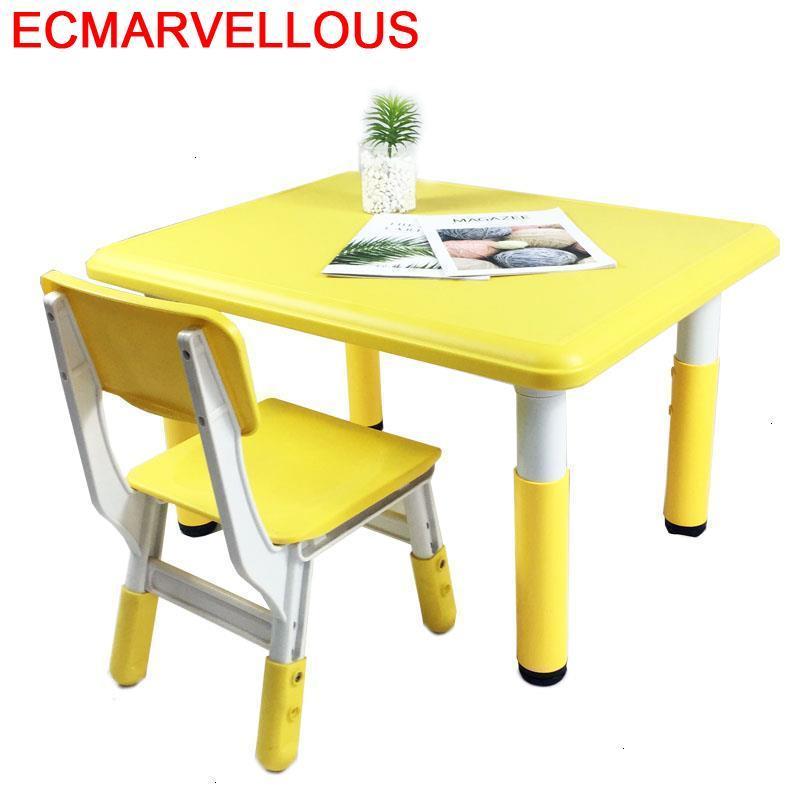 Kindertisch Chair And Pupitre Mesinha Infantil For Kids Mesa De Estudio Kindergarten Bureau Study Kinder Enfant Children Table