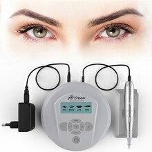 Artmex V6 Rotary Tattoo Machine With Digital Control Panel Micropigmentation Device Permanent Makeup Eye Brow Lip derma Pen