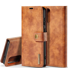 Retro Magnetic 2 in 1 Wallet Case For Samsung Galaxy S20 Ultra Plus FE Fan Edition Detachable Leather Back Cover Coque