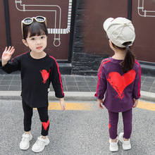 Toddler Girl Clothes Boutique Outfits Childrens stripes two woolly han edition