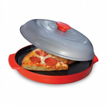 Microwave Oven Non-Stick Baking Tray Pizza Cheese Egg Bacon Defrosting Baking Tray