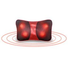 Shoulder Neck and Back Massager Pillow with Heat Deep Kneading Cushion Relaxation Massage Vibrator