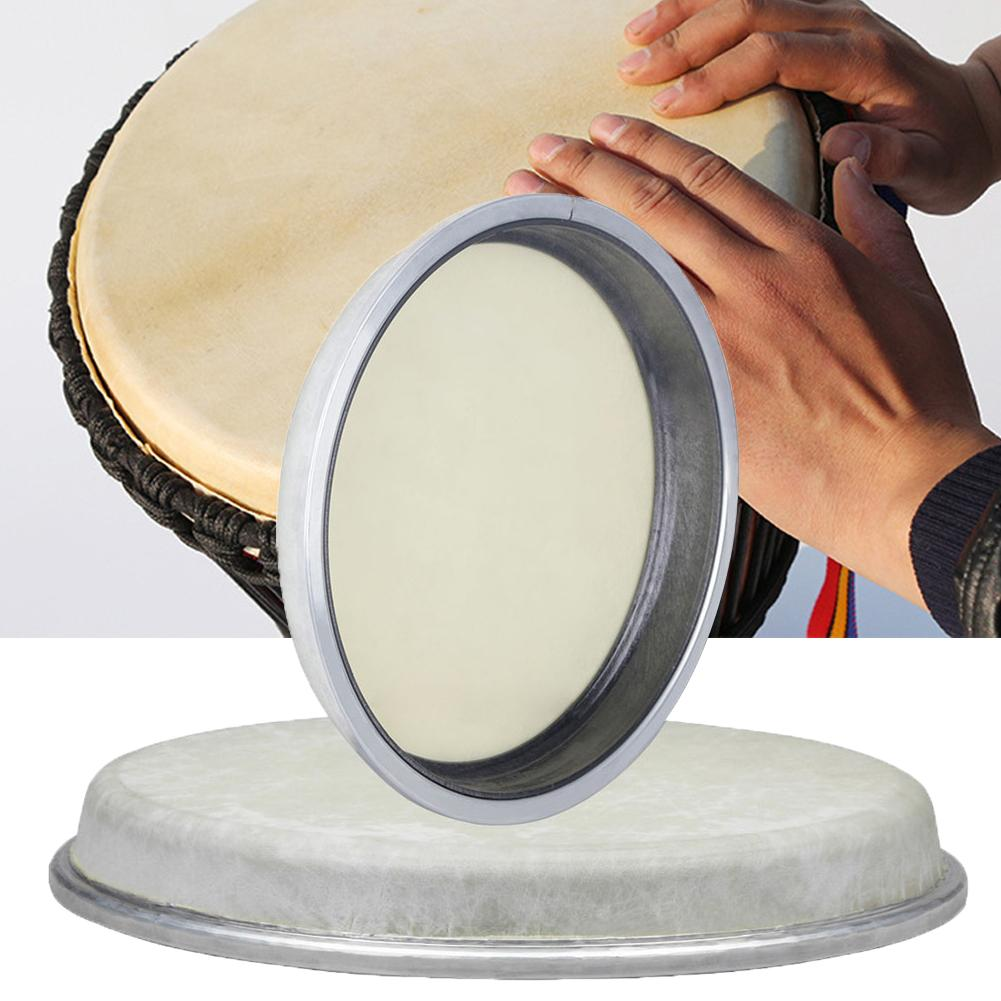 8/10 Inch African Conga Drums Head Skin Percussion Instruments Replacement Parts