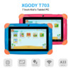 Children's Gift Kids Learning Education Tablet 7 Inch Screen Android 8.10 Version Fashion Portable 1GB16GB Tablet