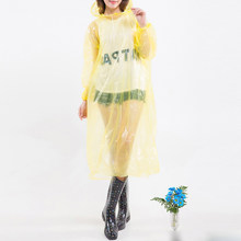 Disposable Raincoat Adult Emergency Waterproof Rain Hood Poncho Travel Camping Blouse Hiking Unisex Rainwear Top 1Pc 2020(China)