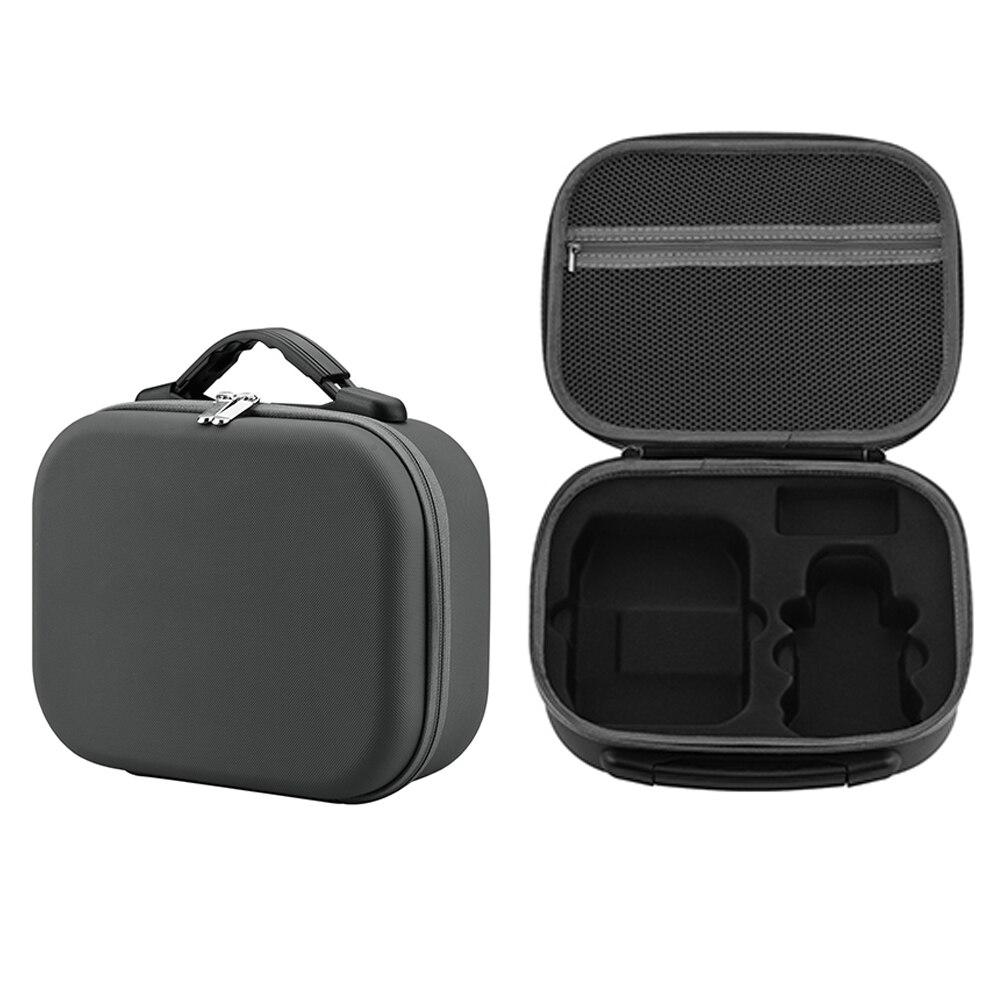Para dji mini 2 caso mavic mini 2 saco portátil casca dura drone bolsa cinza saco ao ar livre carry box acessórios