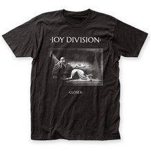Authentische Joy Division Näher Album Rekord Abdeckung Kunst T-shirt S M L XL 2XL top(China)