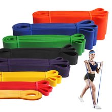 Fitness Rubber Power Band Long Assist Loop Resistance Bands Pull Up Body Training Heavy Duty Band Exercise Gym Workout Expander