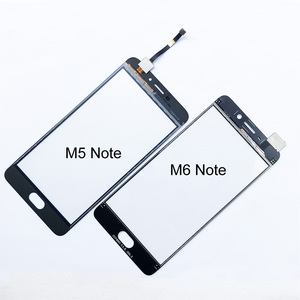 5,5 ''сенсорный экран для Meizu M5 Note M3 Note M6 Note сенсорный экран дигитайзер сенсорная стеклянная панель Замена
