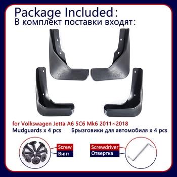 Pour Volkswagen VW Jetta A6 5C6 Mk6 6 2011 ~ 2018 Voiture garde-boue Garde-Boue Garde-Boue Garde-Boue Bavettes 2012 2013 2014 2015 2016