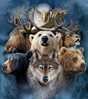 Wolf and eagle Needl...