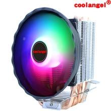 CPU Cooler 6 Heat Pipes 120mm 4 Pin PWM RGB for Intel LGA 1200 1150 1151 1155 2011 AMD AM4 AM3 X79 X99 CPU Cooling Fan PC Quiet