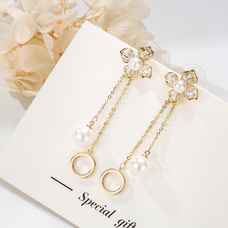TS-ED009 Toss Bear High Quality 925 Sterling Silver Jewelry Spain Version Bear Jewelry Women's Earrings Wholesale Price
