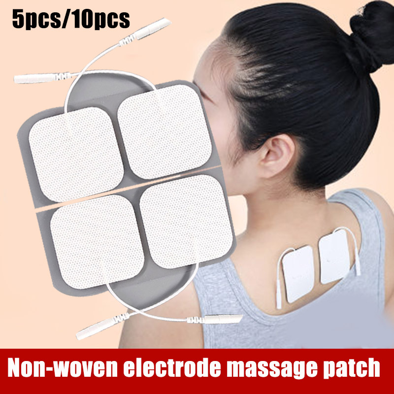 Muscle Stimulator Electrode Pads Set Non-woven Fabric Self Adhesive Physiotherapy Pads K-BEST