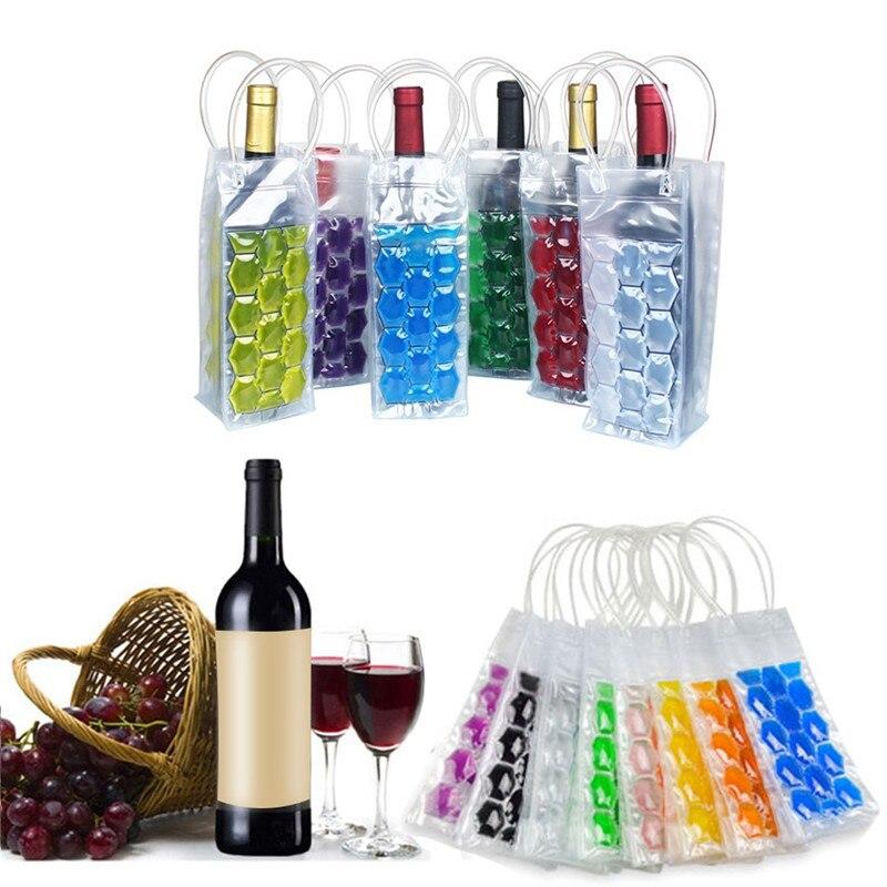 Portable Liquor Ice cold Tool Rapid Wine Bottle Freezer font b Bag b font PVC Chilling