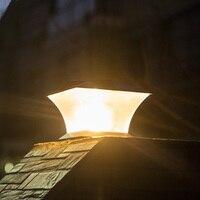المناظر الطبيعية مصباح الممر بارك التلقائي لمبات السياج ABS الحديقة حديقة الديكور الباحة ساحة في الهواء الطلق الشمسية الصمام مسار بدعم
