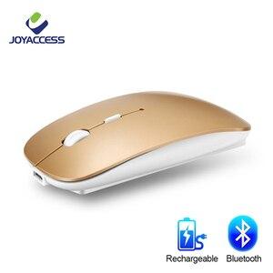 Image 1 - Bluetooth Draadloze Muis Computer Muis Stille 10M Mause Oplaadbare Ergonomische Muis 5.8Ghz Muizen Voor Laptop Pc Tablet Ipad