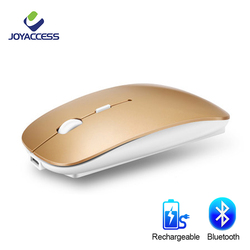 Bluetooth Senza Fili Mouse Del Computer Mouse Del Mouse Silenzioso 10 M Mause Ricaricabile Ergonomico Del Mouse 5.8Ghz per Il Computer Portatile Del Pc Tablet Ipad